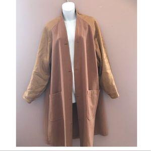 Burberry vintage camel hair/wool coat/cardigan